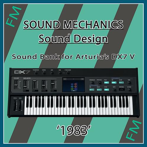 '1983' for Arturia's DX7 V