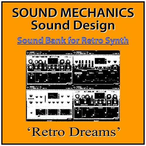 'Retro Dreams' for Logic Pro X's Retro Synth