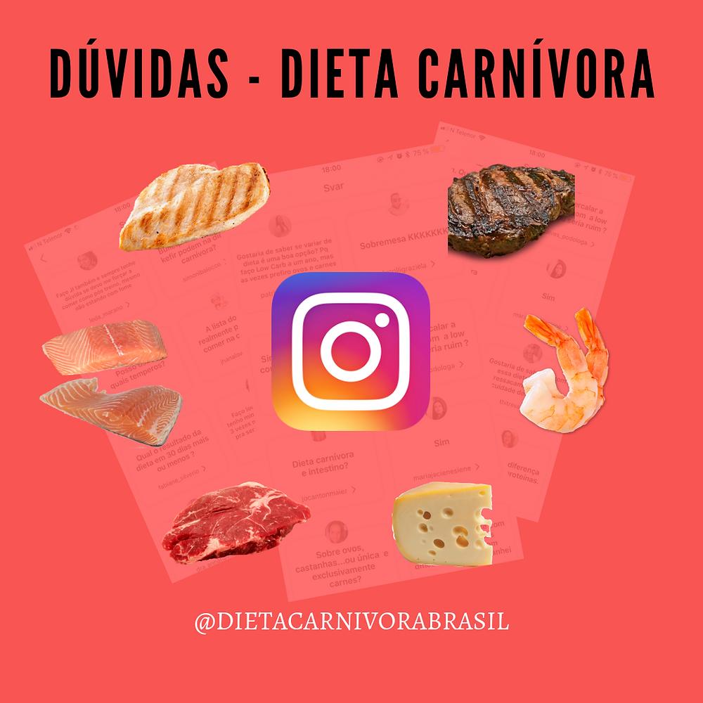 Respostas do Instagram