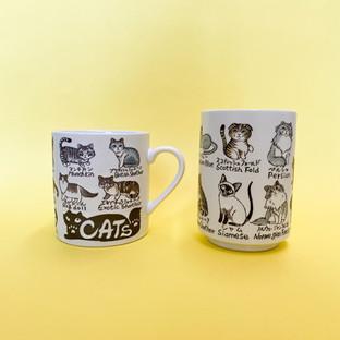 Cute Cat Cups