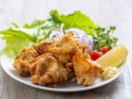Tasty Homemade Karaage