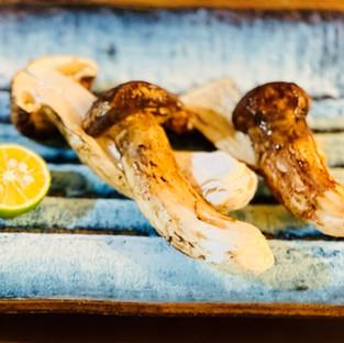 Roasted Matsutake Mushroom