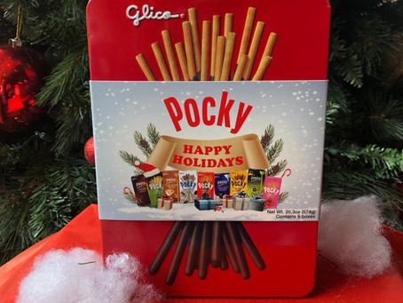 New Item: Holiday Pocky Tin
