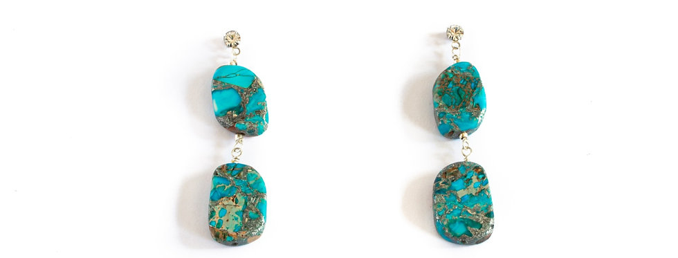 Turquoise Double Drop