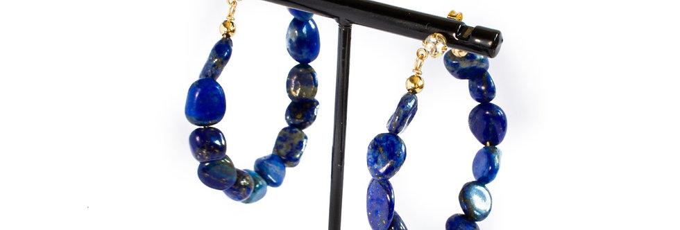 Lapis Lazuli Hoop
