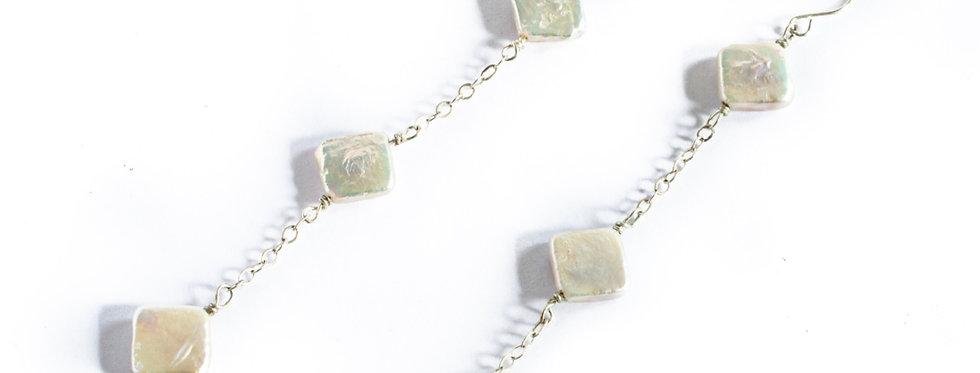 Freshwater Pearl Triple Drop Chain