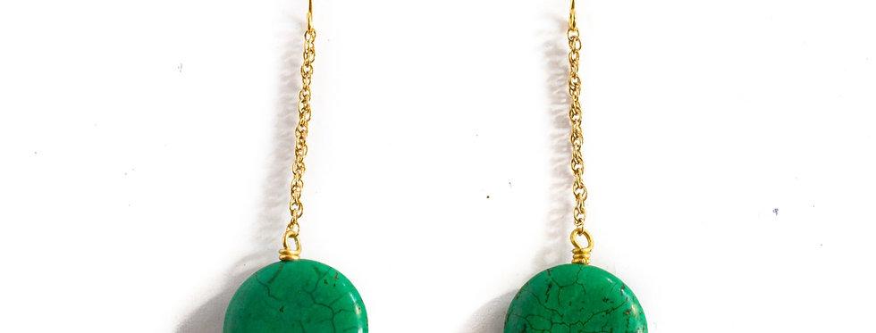 Green Stone Drop