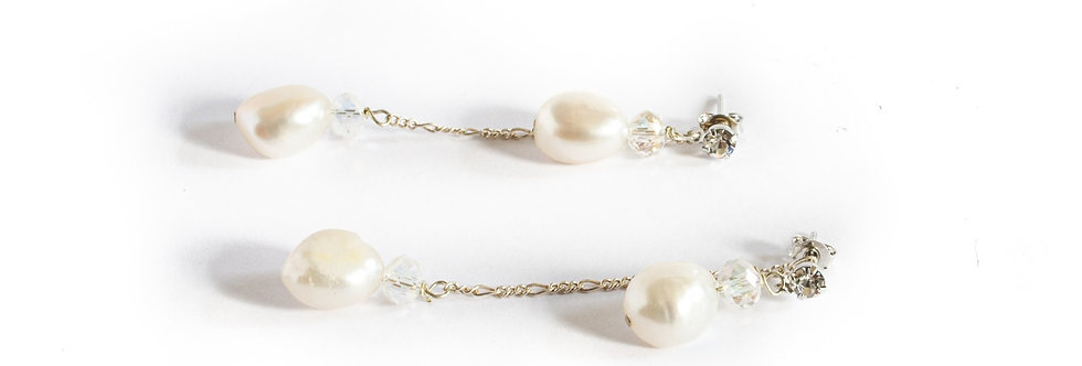 Freshwater Pearl Front Back