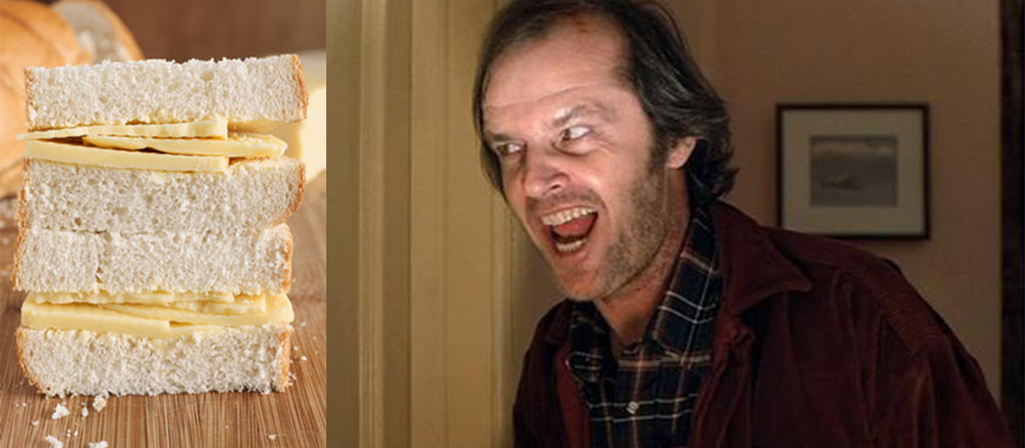 Jack Nicholson Was Fed Cheese Sandwiches For 2 Weeks In THE SHINING