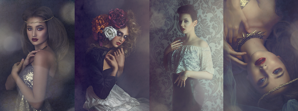 whimsical unconventional portrait photography