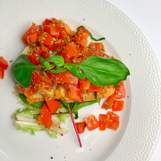 Homemade Tomato Bruschetta