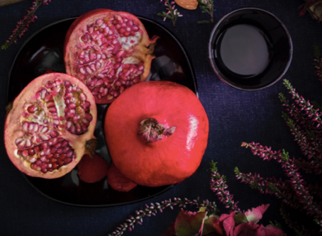 Grow and Give Puts the Give in Thanksgiving with This Delicious Pomegranate Ice Cream Recipe