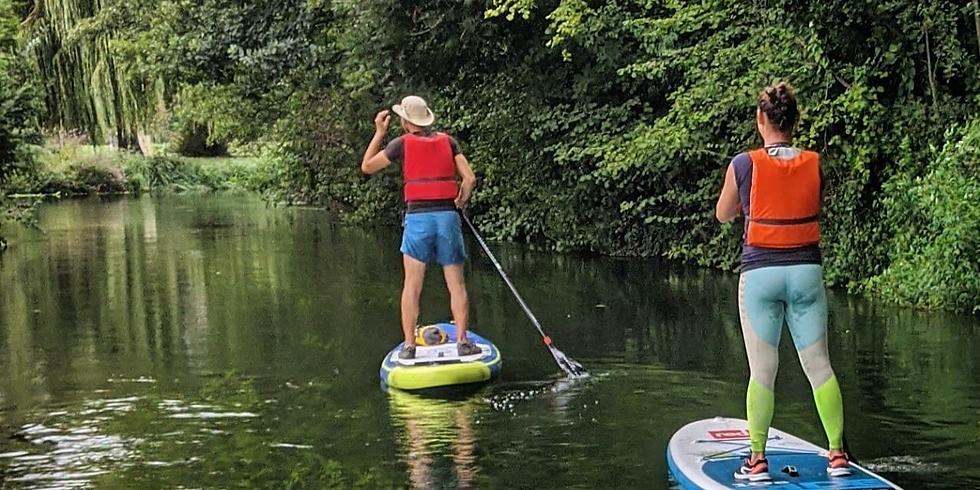 Paddle sur le Rhin Tortu  13:00 - Transfert
