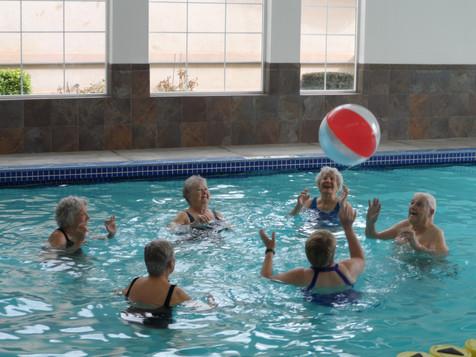 Evergreen Fountains Pool Beach Ball