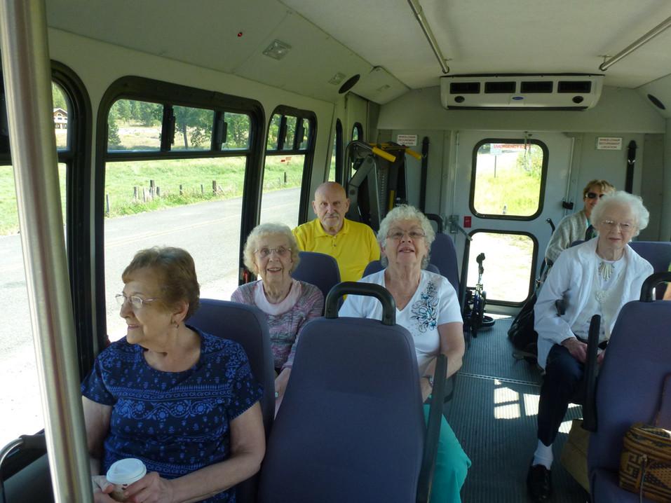 Evergreen Fountains Bus