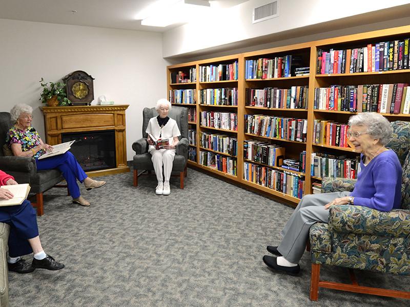 Evergreen Fountains Book Club