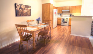 Evergreen Fountains Apartment Home Dining and Kitchen