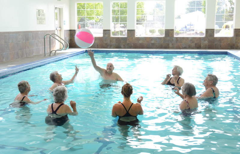 Evergreen Fountains Warm Water Pool Exercise Class