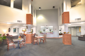 Evergreen Fountains Assisted Living Main Entrance