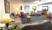 Evergreen Fountains Assisted Living Lobby