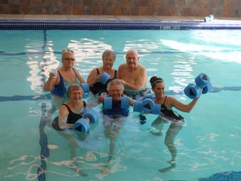Evergreen Fountains Having Fun In The Pool