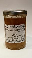 confiture poire vanille les confitures de mémé