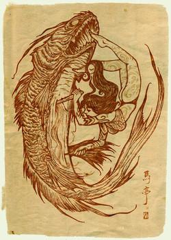 GIRL vs FISH