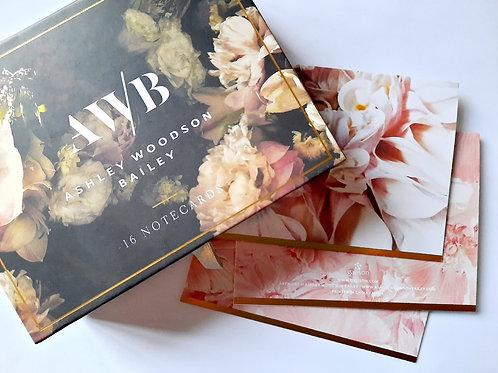 Tarjetón Floral