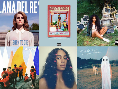 Top 10 albums of the decade by female artists