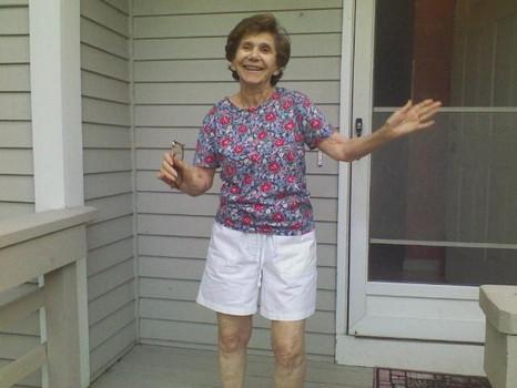 My nana, a small-yet-mighty jewish woman