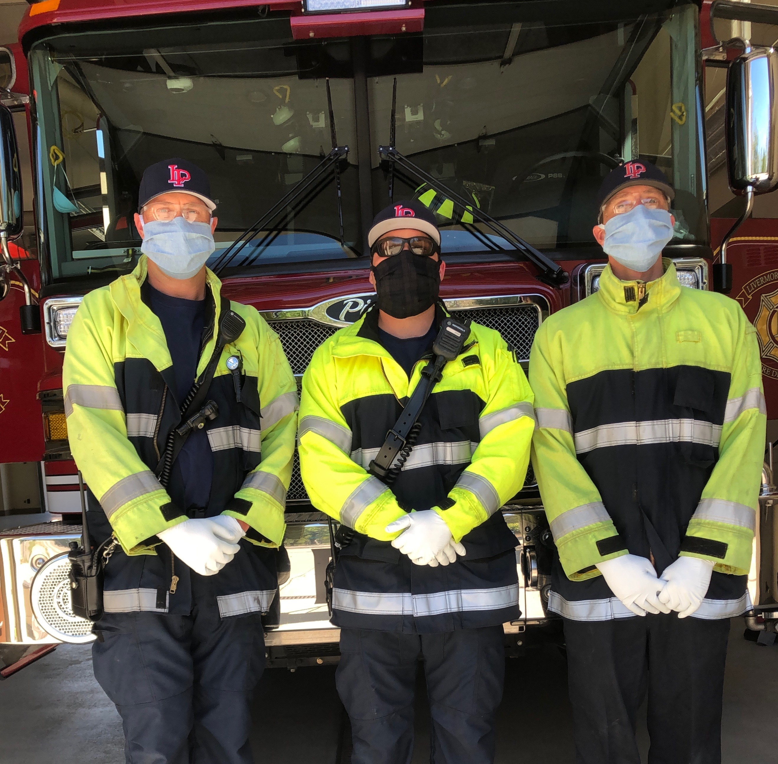 Masks for the City of Livermore/Pleasanton Fire Department