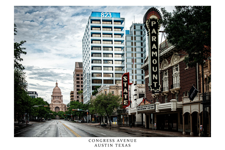 Congress Avenue Covid Rush Hour