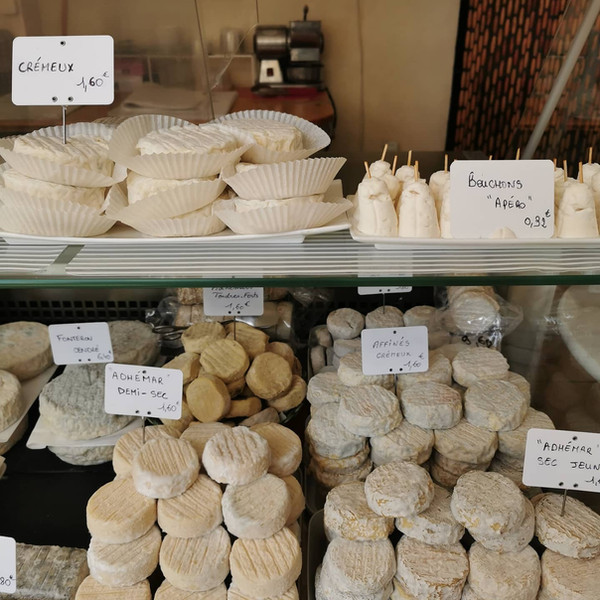 La gamme de fromages