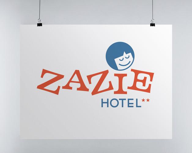 Logo Zazie Hotel
