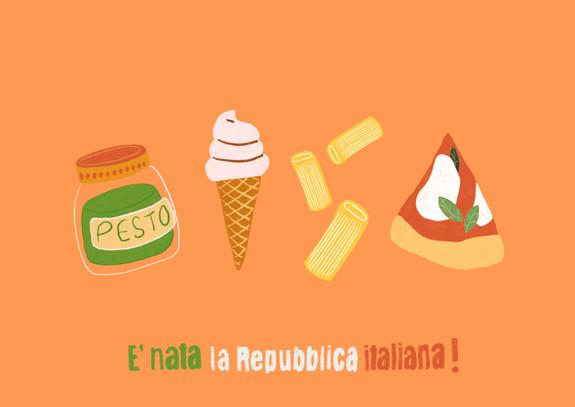 E' nata la repubblica italiana!