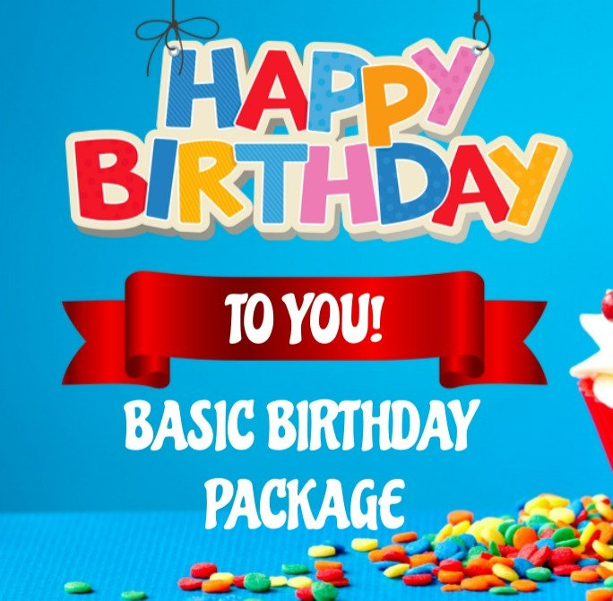 Basic Birthday Party Package (Read More)