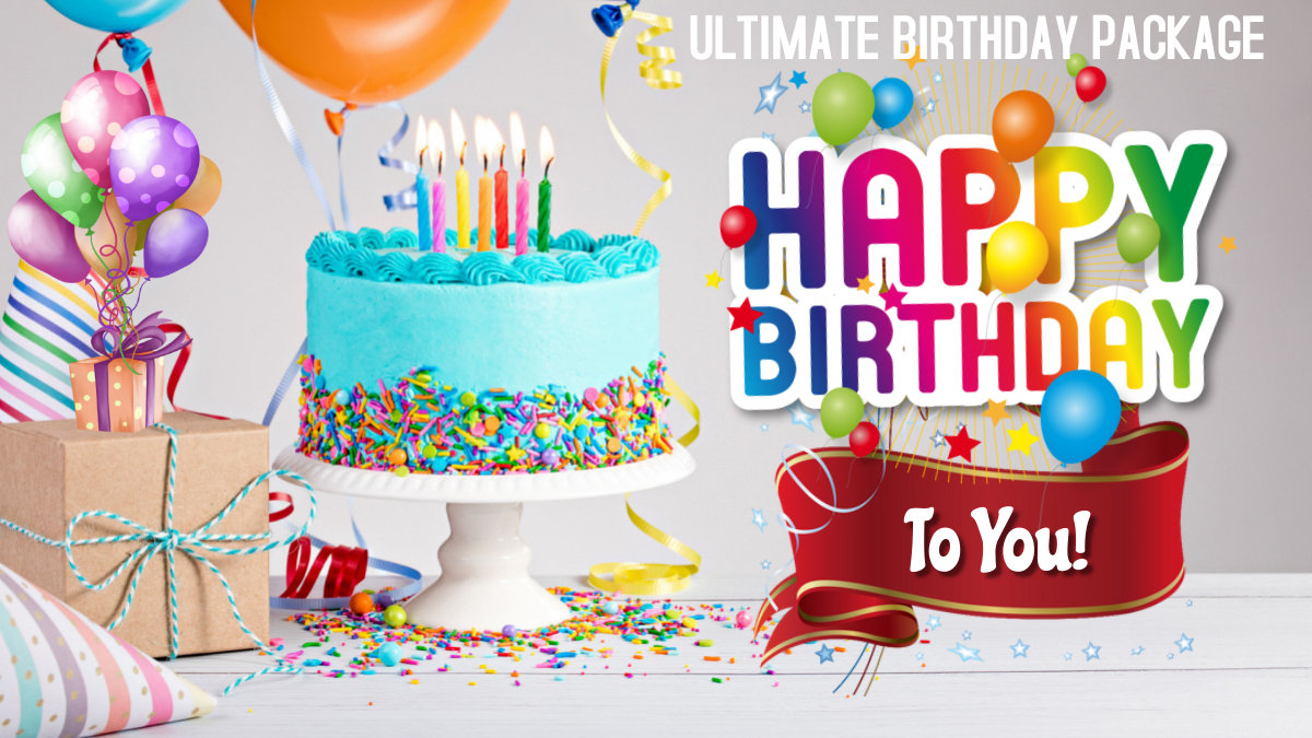 Ultimate Birthday Package   (Read More)