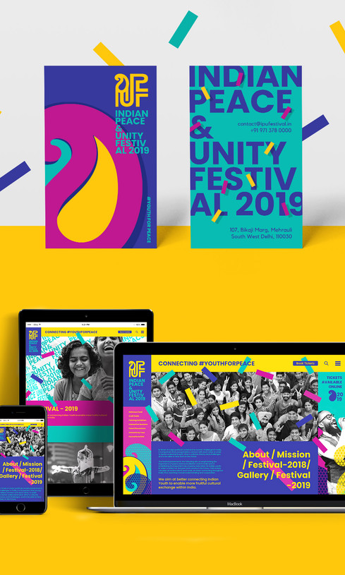 Indian Peace and Youth Festival | Branding
