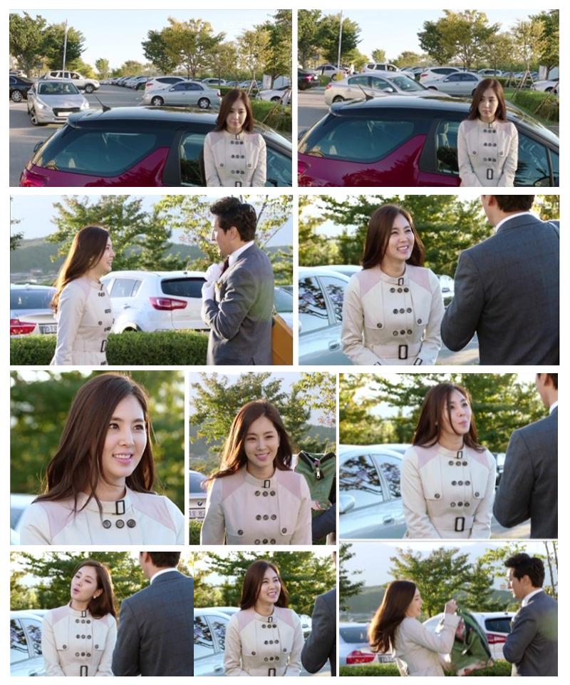 배우 한채아트랜치코트kbs월화드라마울랄라부부