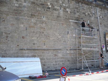 Installation pour la Biennale de Montreux 2008