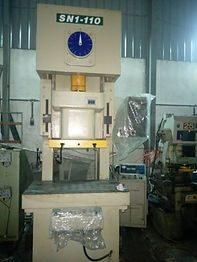 Gap Frame Punch Machine