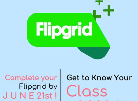 Freshman Flipgrid Activity