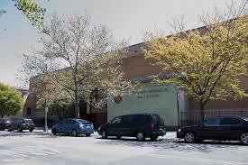 Main entrance of Williamsburg Preparatory High School