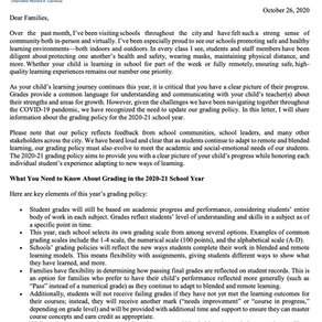 Update to City Grading Policy