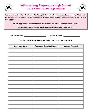 Fundraising Form