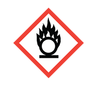COSHH symbol - Oxidising
