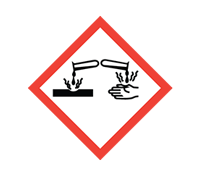 COSHH symbol - Corrosive