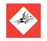 COSHH symbol - Explosive