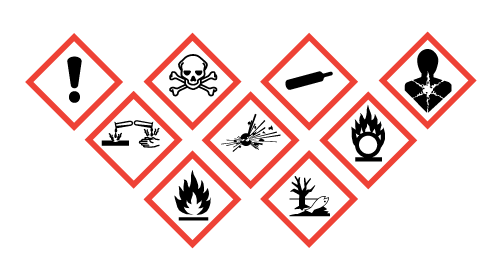 It is important that anyone in proximity to hazardous substances recognise and know each COSHH symbol