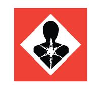COSHH symbol - Longer term health hazards